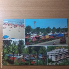 Postales: ITALIA: CAMPING UNIÓN LIDO.VENECIA.CIRCULADA.1972.. Lote 226350970