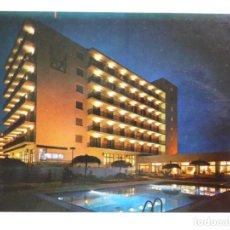 Postales: POSTAL COSTA BRAVA- HOTEL MONTERREY, CANALES DE SANTA MARGARITA. VISTA NOCTURNA, MALLOL. Lote 227874121