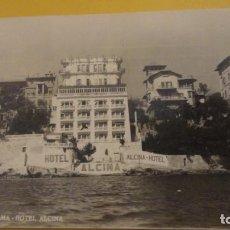 Postales: ANTIGUA POSTAL.HOTEL ALCINA.PALMA DE MALLORCA.FOTO LA NUEVA.1949. Lote 228063740