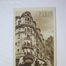 Postales: PARIS-HOTEL COMMODORE-POSTAL ANTIGUA-(76.194). Lote 228352500