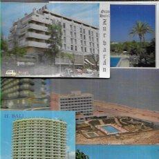Postales: 90 POSTALES * HOTELES & HOSTALES & PARADORES * ( ESPAÑA) ( LOTE Nº 121 ). Lote 229014775