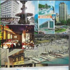 Postales: 90 POSTALES * HOTELES - RESTAURANTES - MOTELES * ( EXTRANJERO ) ( LOTE Nº 221 ). Lote 229016985