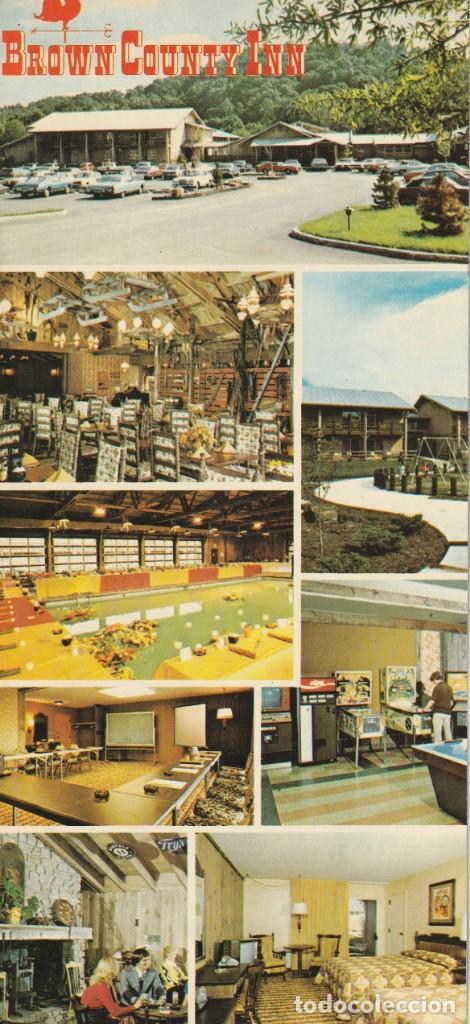 HOTEL COUNTRY INN NASHVILE,INDIANA. FORMATO APAISADO (Postales - Postales Temáticas - Hoteles y Balnearios)