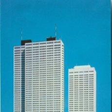 Postales: CARTERITA CERILLAS COMPLETA Y POSTAL KEIO PLAZA INTER-CONTINENTAL HOTEL TOKYO. Lote 233038455