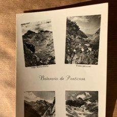 Postales: POSTAL BALNEARIO DE PANTICOSA 1961 PEDRO PERICO CHICOTE CAFE VICENTINO CEUTA. Lote 238268035