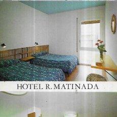 Cartes Postales: POSTAL * CALELLA DE MAR ,HOTEL R. MATINADA * 1976. Lote 243606125