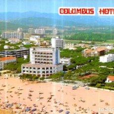 Postales: POSTAL * PLATJA D' ARO , HOTEL COLUMBUS * 1973. Lote 243830045