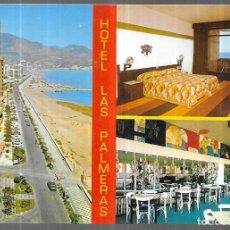 Postales: POSTAL * FUENGIROLA , HOTEL LAS PALMERAS * 1974. Lote 243842685