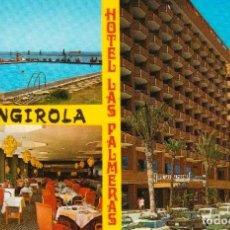 Postales: POSTAL * FUENGIROLA , HOTEL LAS PALMERAS * 1975. Lote 243845570