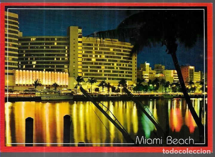 POSTAL * MIAMI BEACH , FONTAINBLEAU HOTEL * (Postales - Postales Temáticas - Hoteles y Balnearios)