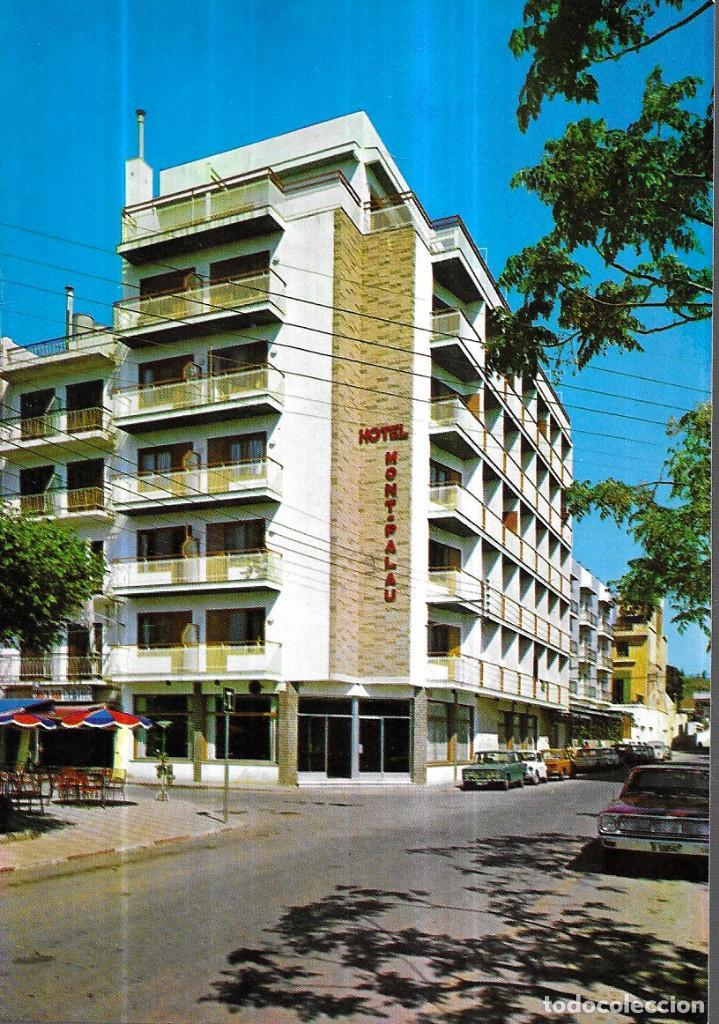POSTAL * PINEDA DE MAR , HOTEL MONT PALAU * 1970 (Postales - Postales Temáticas - Hoteles y Balnearios)