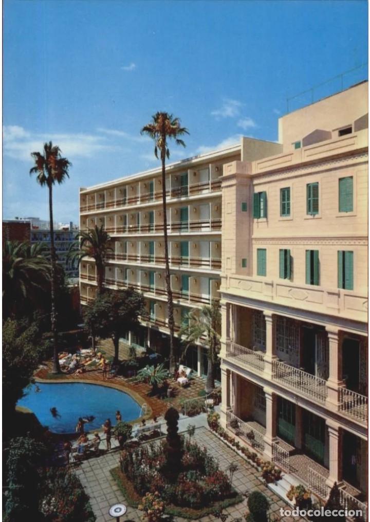 POSTAL * LLORET DE MAR , HOTEL GUITART ROSA * 1968 (Postales - Postales Temáticas - Hoteles y Balnearios)