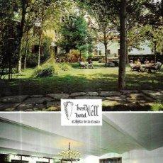 Postales: POSTAL * CALELLA DE MAR , HOSTAL VELL HOTEL * 1968. Lote 243850605