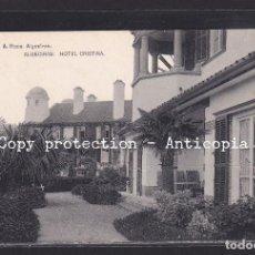 Postales: POSTAL DE ESPAÑA - ALGECIRAS: HOTEL CRISTINA. Lote 243861220