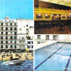 Postales: POSTAL * BLANES , HOTEL PI MAR * 1972. Lote 243861260