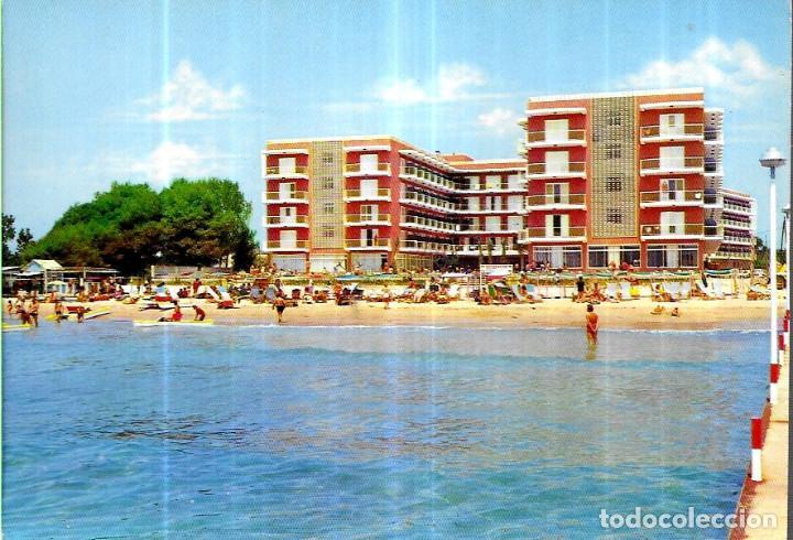 POSTAL * SALOU , HOTEL AUGUSTUS * 1971 (Postales - Postales Temáticas - Hoteles y Balnearios)