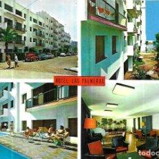 Postales: POSTAL * CALELLA , HOTEL LAS PALMERAS * 1971. Lote 243863930