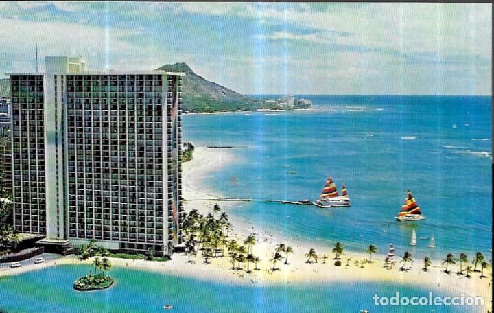 POSTAL * HAWAI , HILTON HAWAIIAN VILLAGE * (Postales - Postales Temáticas - Hoteles y Balnearios)