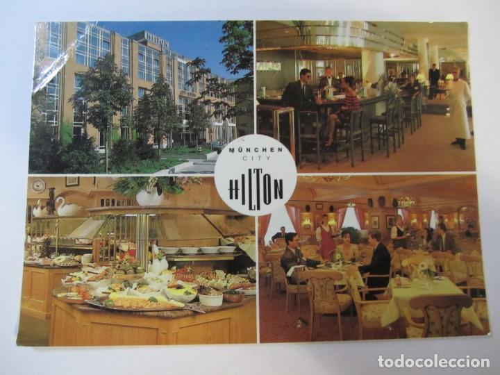 POSTAL HOTEL HILTON MUNCHEN CITY (Postales - Postales Temáticas - Hoteles y Balnearios)