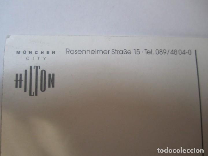Postales: postal hotel hilton munchen city - Foto 3 - 244635130