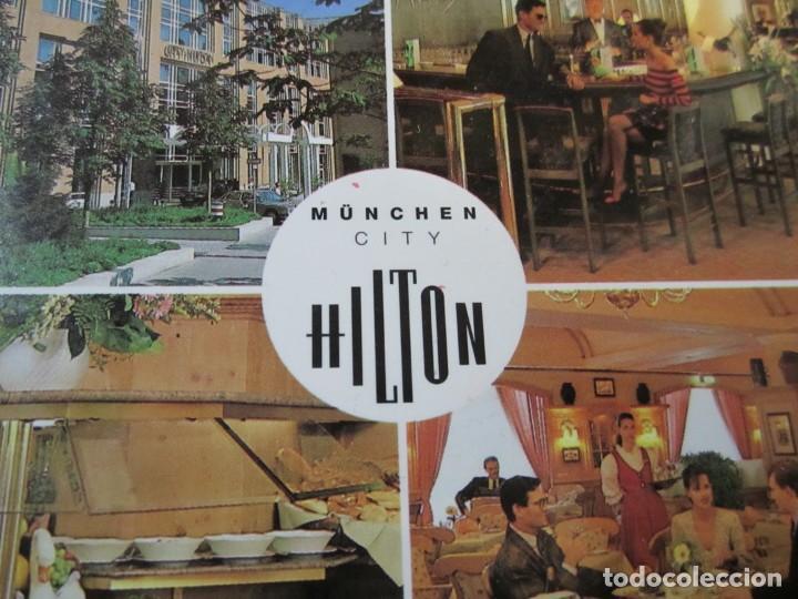 Postales: postal hotel hilton munchen city - Foto 4 - 244635130