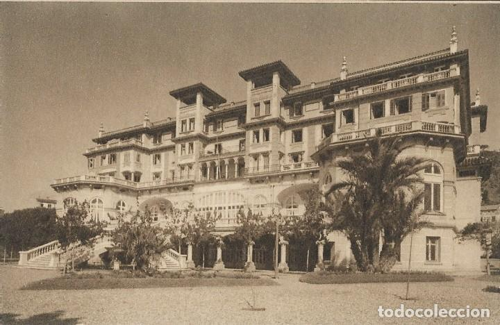POSTAL HOTEL MIRAMAR, MÁLAGA. ANDALUCIA (Postales - Postales Temáticas - Hoteles y Balnearios)