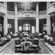 Postales: HOTEL ALFONSO XIII, HALL. MADRID. Lote 244684035