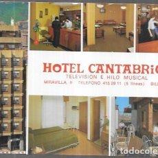 Postales: POSTAL * HOTEL CANTÁBRICO , BILBAO * 1976. Lote 245439885