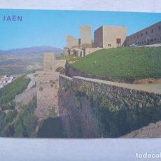 Postales: POSTAL DEL PARADOR Y CASTILLO DE SANTA CATALINA, JAEN . AÑOS 60. Lote 245487020