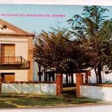 Postales: POSTAL SALAMANCA - BALNEARIO DE LEDESMA. Lote 245594230