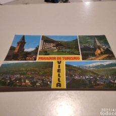 Postales: PARADOR DE TURISMO VIELLA. Lote 253360485