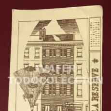 Postales: POSTAL FILADELFIA, ESTADOS UNIDOS, HOTEL BED AND BREAKFAST LA RESERVE, CASA VICTORIANA, AÑO 1990. Lote 253751995