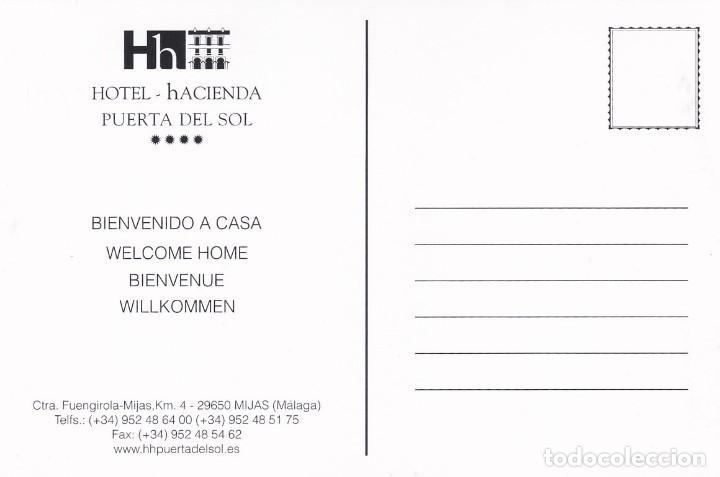 Postales: POSTAL HOTEL - HACIENDA PUERTA DEL SOL. MIJAS (MALAGA) - Foto 2 - 253927885