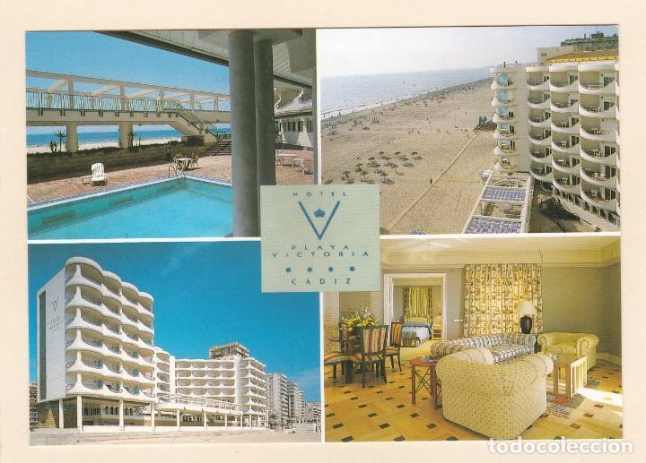 POSTAL HOTEL PLAYA VICTORIA (CADIZ) - EDICIONES SICILIA (Postales - Postales Temáticas - Hoteles y Balnearios)