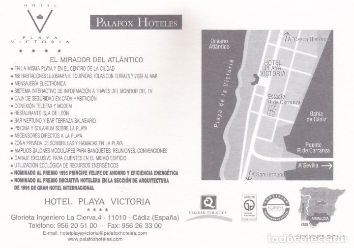 Postales: POSTAL HOTEL PLAYA VICTORIA (CADIZ) - EDICIONES SICILIA - Foto 2 - 253929480