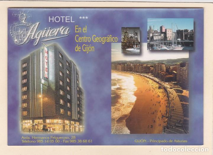 POSTAL HOTEL AGÜERA (GIJON) (Postales - Postales Temáticas - Hoteles y Balnearios)