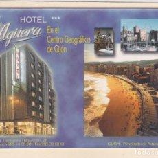 Postales: POSTAL HOTEL AGÜERA (GIJON). Lote 254285450