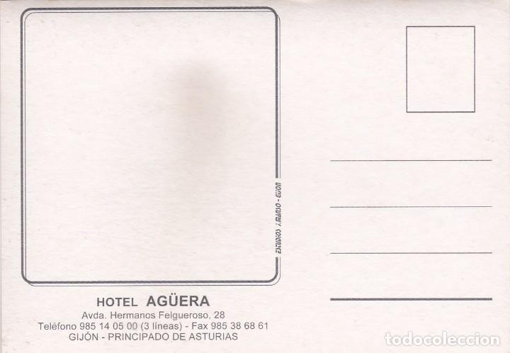 Postales: POSTAL HOTEL AGÜERA (GIJON) - Foto 2 - 254285450