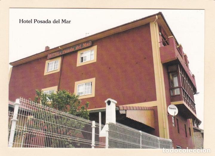 POSTAL HOTEL POSADA DEL MAR. SUANCES (ASTURIAS) (Postales - Postales Temáticas - Hoteles y Balnearios)