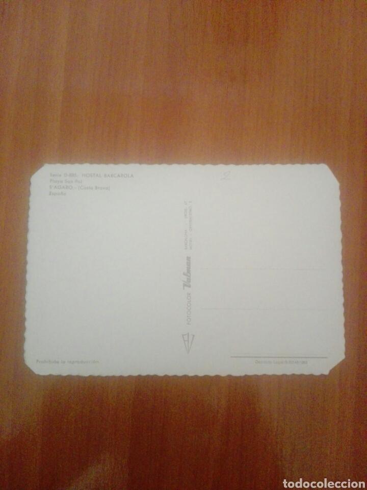 Postales: Postal serie d 885 hostal barcarola playa San pol sagaro - Foto 2 - 255539645