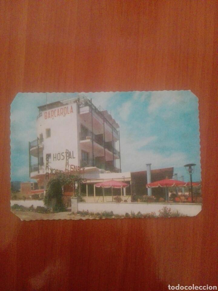 POSTAL SERIE D 885 HOSTAL BARCAROLA PLAYA SAN POL S'AGARO (Postales - Postales Temáticas - Hoteles y Balnearios)