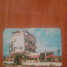 Postales: POSTAL SERIE D 885 HOSTAL BARCAROLA PLAYA SAN POL S'AGARO. Lote 255539645