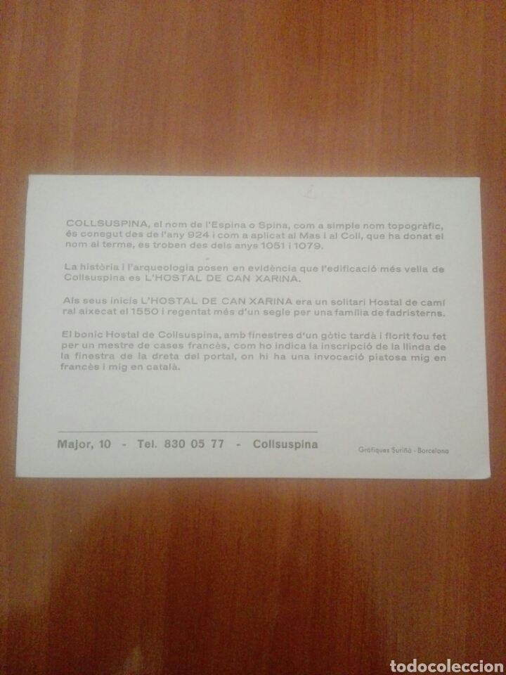Postales: Postal hostal can xarina collsuspina - Foto 2 - 255539810