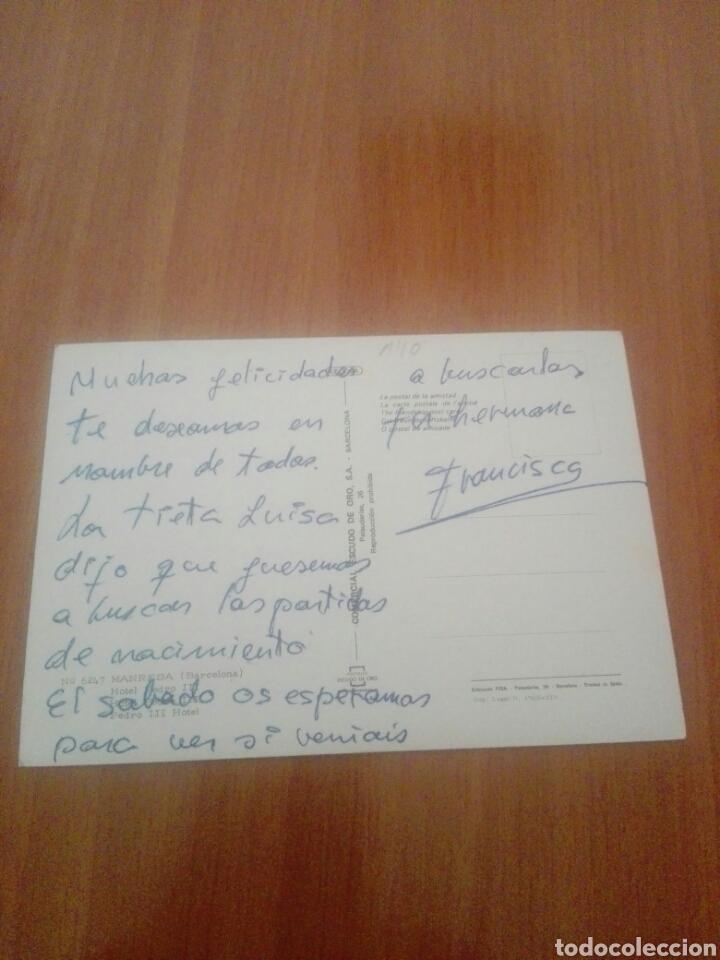 Postales: Postal 6247 Manresa hotel Pedro III - Foto 2 - 255542620
