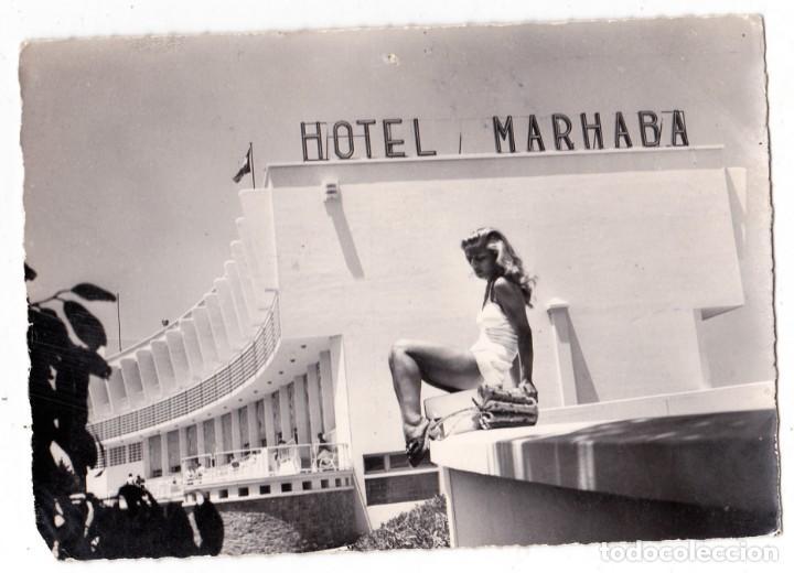POSTAL CIRCULADA HOTEL MARHABA MAZAGAN (MARRUECOS) (Postales - Postales Temáticas - Hoteles y Balnearios)