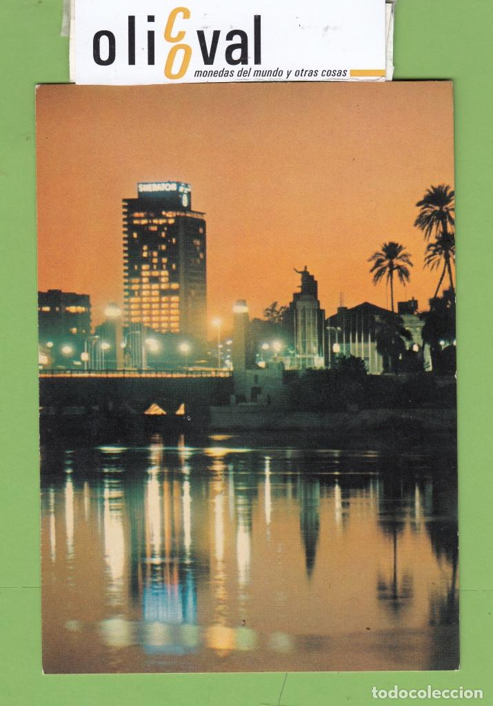 TARJETA HOTEL CASINO SHERATON EL CAIRO COLOR TPH 2895 (Postales - Postales Temáticas - Hoteles y Balnearios)