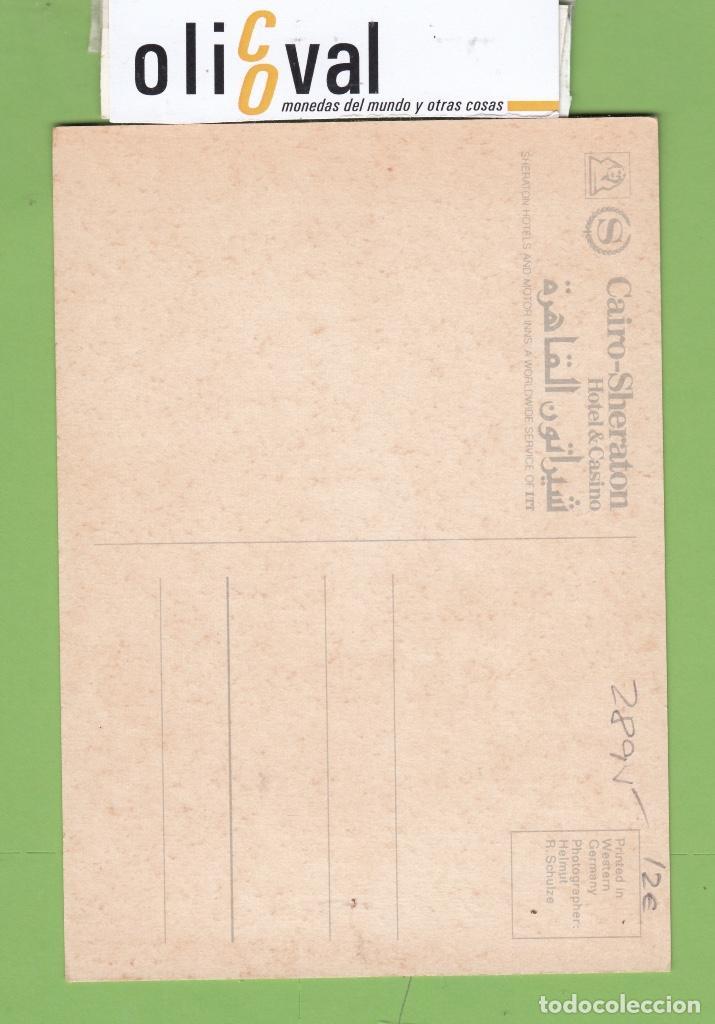 Postales: TARJETA HOTEL CASINO SHERATON EL CAIRO COLOR TPH 2895 - Foto 2 - 257313635