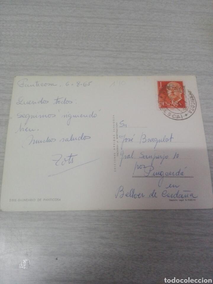 Postales: Postal 2018 balneario de panticosa - Foto 2 - 257318235