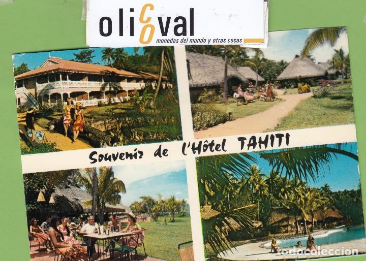 TARJETA HOTEL TAHITI POLYNESIE FRANCAIE TPH 2901 (Postales - Postales Temáticas - Hoteles y Balnearios)