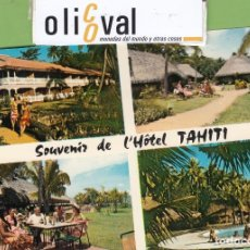 Postales: TARJETA HOTEL TAHITI POLYNESIE FRANCAIE TPH 2901. Lote 257318645